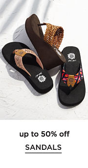 up to 50% off Sandals