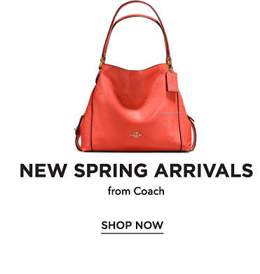 New spring arrivals from Coach. Shop now