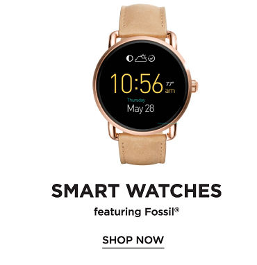 Smart watches featuring Fossil. Shop now