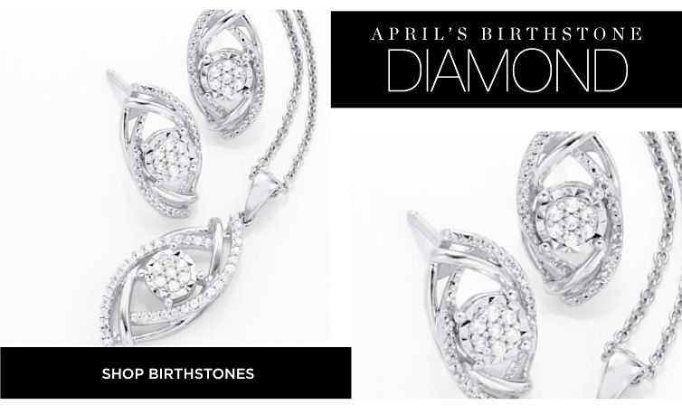 April's Birthstone Diamonds | Shop Birthstones