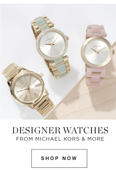 DESIGNER WATCHES FROM MICHAEL KORS & MORE | Shop Now