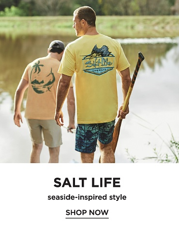 Salt Life seaside-inspired style. Shop now