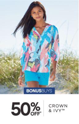 BONUSBUYS | 50% OFF* CROWN & IVY™