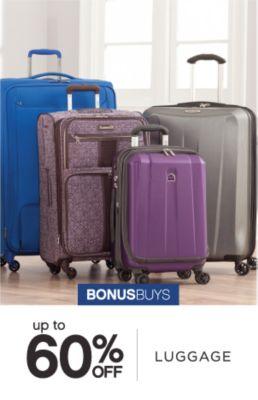 BONUSBUYS | up to 60% OFF LUGGAGE