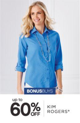 BONUSBUYS | up to 60% OFF KIM ROGERS®