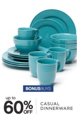 BONUSBUYS | up to 60% OFF CASUAL DINNERWARE