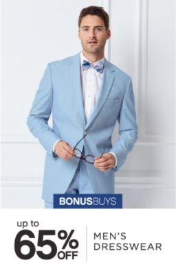 BONUSBUYS | up to 65% OFF MEN'S DRESSWEAR