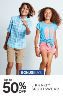 BONUSBUYS | up to 50% OFF J KHAKI™ SPORTSWEAR