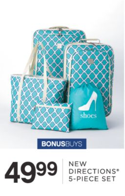 BONUSBUYS | 49.99 NEW DIRECTIONS® 5-PIECE SET