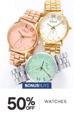 BONUSBUYS | 50% OFF WATCHES