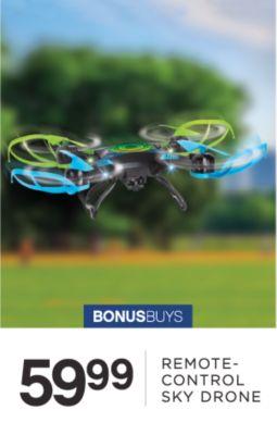 BONUSBUYS | 59.99 REMOTE-CONTROL SKY DRONE