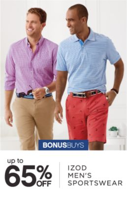 BONUSBUYS | up to 65% OFF IZOD MEN'S SPORTSWEAR