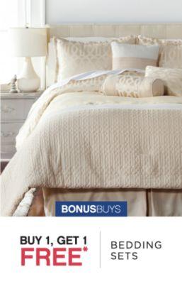 BONUSBUYS | BUY 1, GET 1 FREE* BEDDING SETS