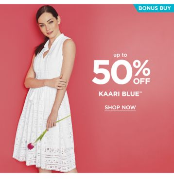 Bonus Buy - up to 50% off Kaari Blue™. Shop now.