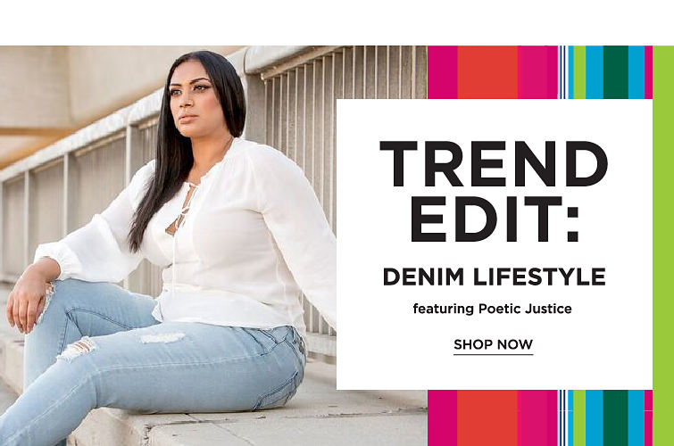 Tred Edit: Denim Lifestyle featuring Poetic justice - SHOP NOW