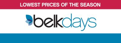 LOWEST PRICES OF THE SEASON | belkdays