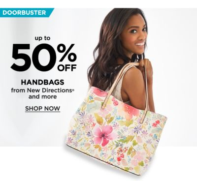 Doorbuster! Up to 50% off Handbags from New Directions and more - Shop Now