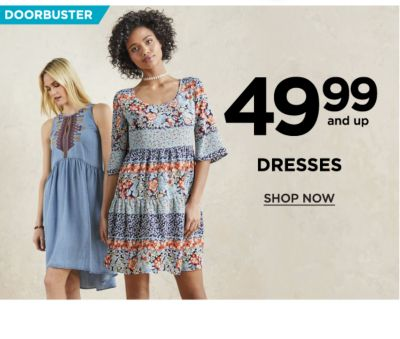 Doorbuster! 49.99 and Up Dresses - Shop Now