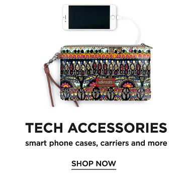 Tech accessories. Smart phone cases, carriers and more. Shop now