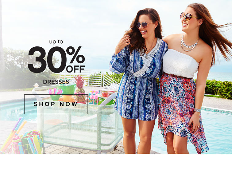 Up to 30% off dresses | shop now