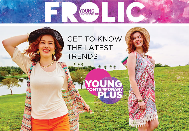 YOUNG CONTEMPORARY FROLIC | Get to know the latest trends