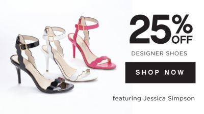 25% OFF DESIGNER SHOES | SHOP NOW | featuring Jessica Simpson