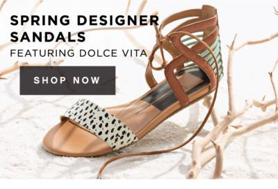 SPRING DESIGNER SANDALS FEATURING DOLCE VITA | SHOP NOW