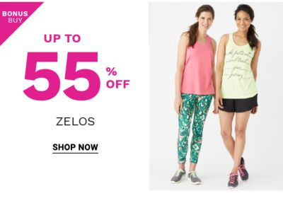 Bonus Buy! Up to 55% off Zelos - Shop Now