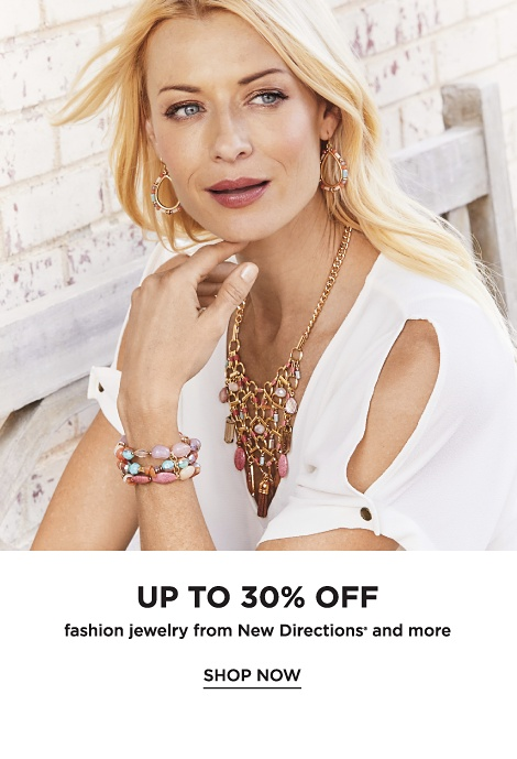 Up to 30% off Fashion Jewelry from New Directions and more - Shop Now