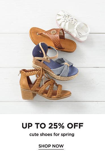 Up to 25% off Cute Shoes for Spring. Shop now.
