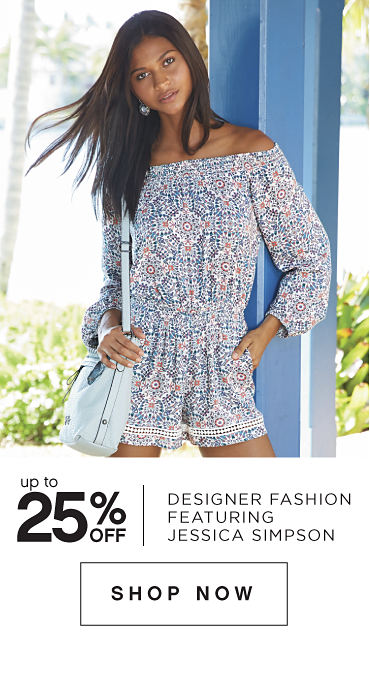 Up to 25% off Designer Fashion featuring Jessica Simpson - Shop Now