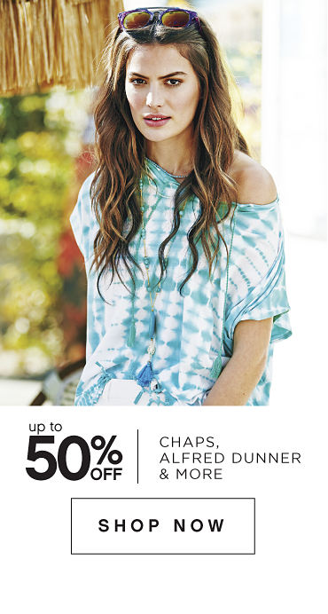 Up to 50% off Chaps, Alfred Dunner & More - Shop Now