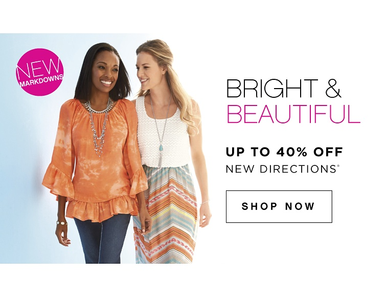 New Markdowns! Bright & Beautiful | Up to 40% off New Directions® - Shop Now