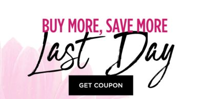 Buy More, Save More - LAST DAY - $10 off* off regular and sale purchases when you spend $50 | $25 off*  off regular and sale purchases when you spend $100 | $40 off* when you spend $150 off* off regular and sale purchases. Get Coupon.