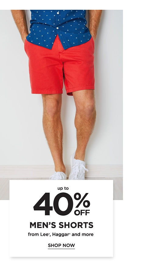 Up to 40% Men's Shorts from Lee®, Haggar® and more. Shop Now.