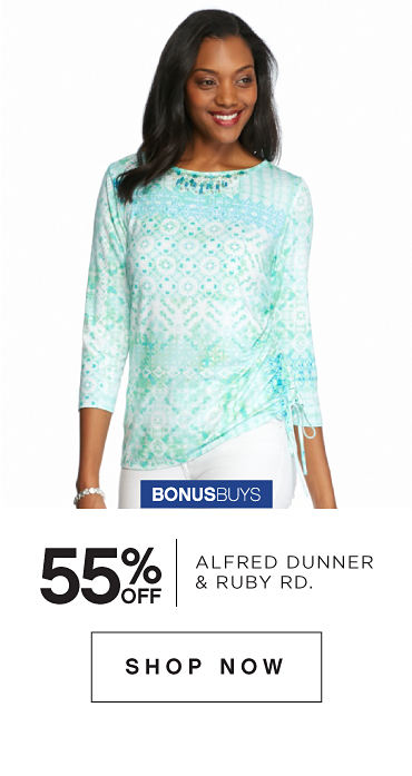 BonusBuys | 55% off Alfred Dunner, Ruby Rd. & More - Shop Now