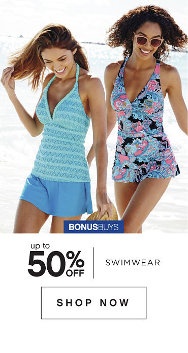 BonusBuys | Up to 50% off Swimwear - Shop Now