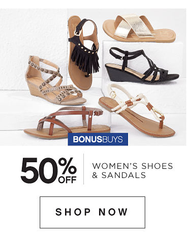 50% Off Womens Shoes And Sandals
