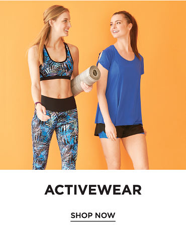 Activewear - Shop Now