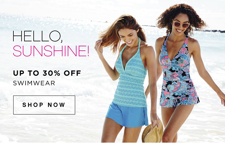 Hello, Sunshine! Up To 30% off Swimwear - Shop Now