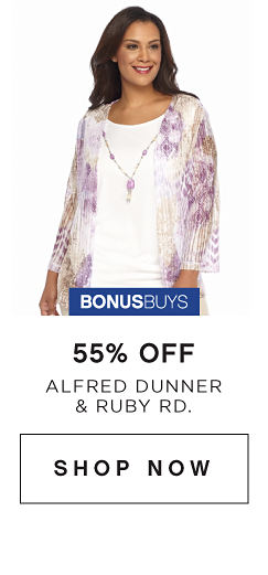 BonusBuys | 55% off Alfred Dunner & Ruby Rd. - Shop Now