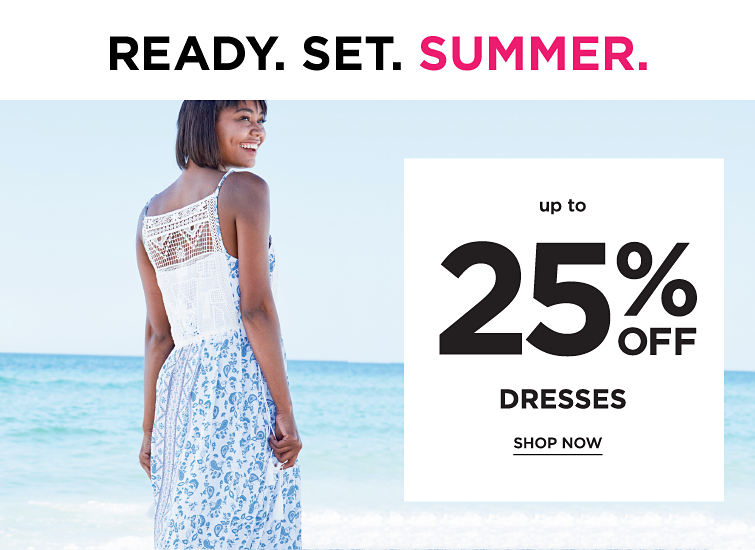 Cready Set Summer | Up To 25% Off Dresses | shop now