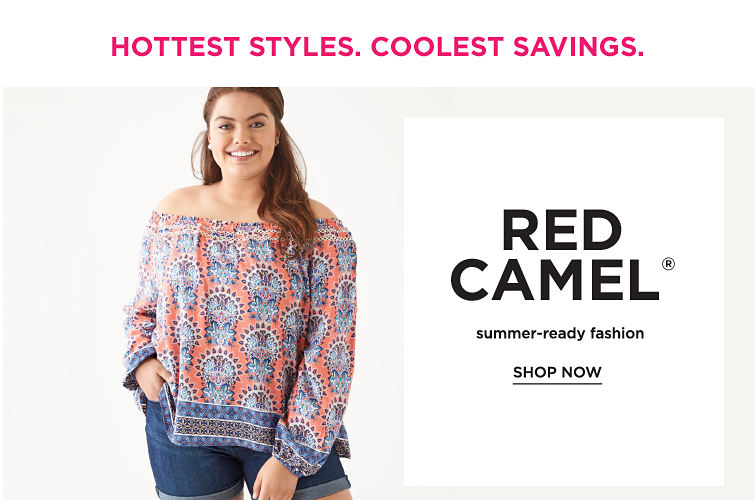 Hottest Styles. Coolest Savings | Red Camel SHOP NOW