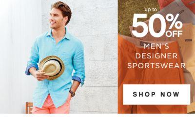 up to 50% OFF MEN'S DESIGNER SPORTSWEAR | SHOP NOW