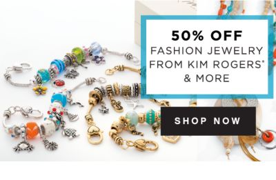 50% OFF FASHION JEWELRY FROM KIM ROGERS® & MORE | SHOP NOW