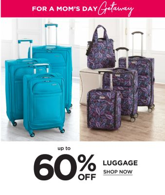 For a Mom's Getaway - Up to 60% off luggage. Shop Now.