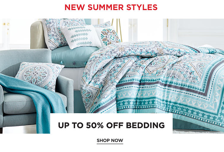 New Summer Styles | Up To 50Percent Off Bedding | shop now