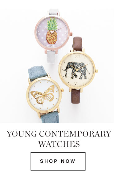Young Contemporary Watches | Shop Now
