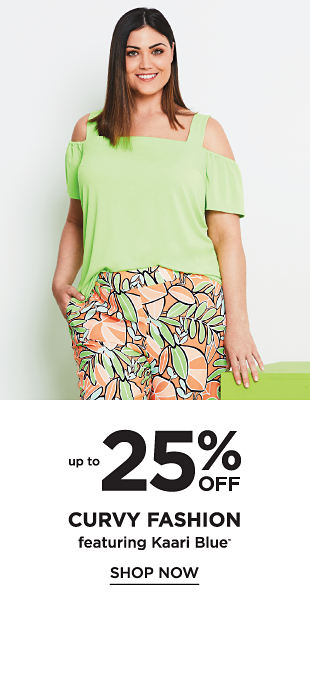 Up to 25% off Curvy Fashion featuring Kaari Blue - Shop Now
