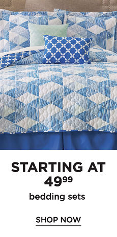 Starting at 49.99 Bedding Sets - Shop Now